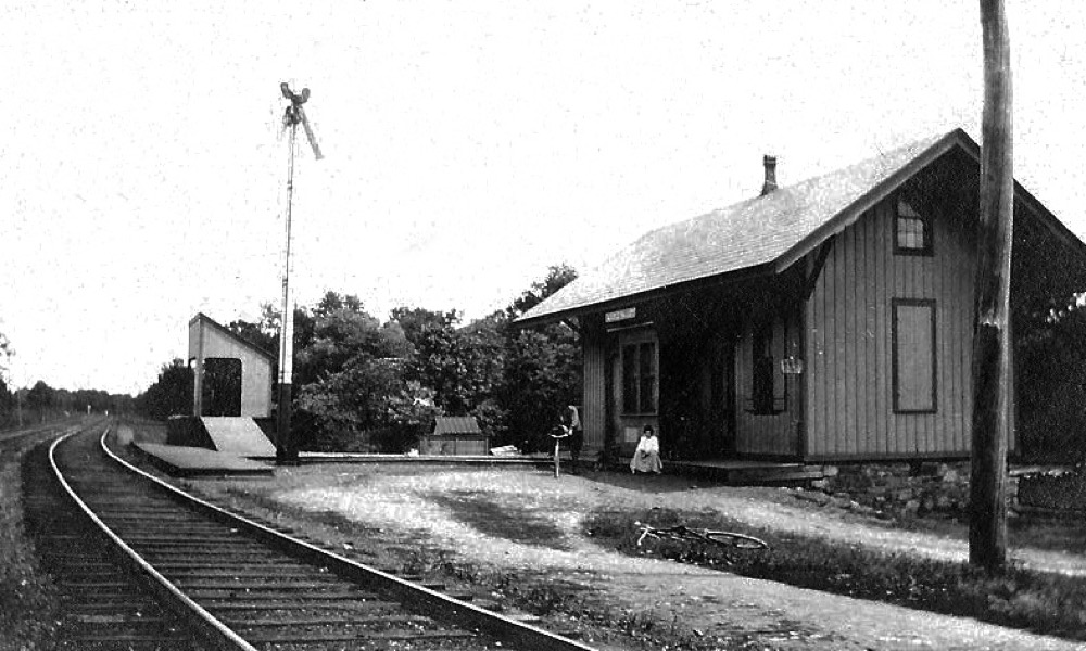 Middle Valley Railroad Station