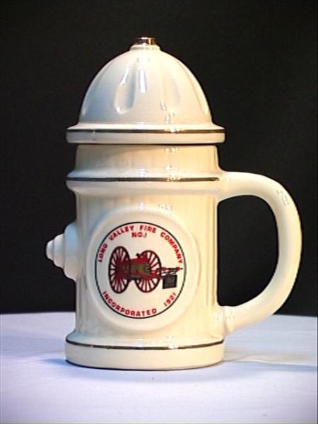 Long Valley Fire Co. fire hydrant beer stein
